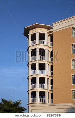Condominium or apartment balconies