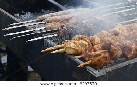Barbecue Festival in Akhtala