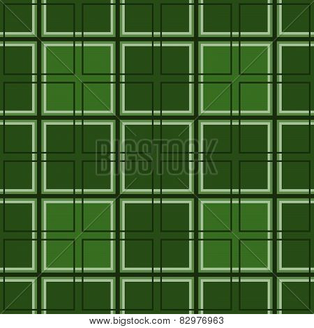 Mosaic of green squares