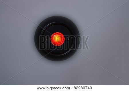 Red Lamp Button