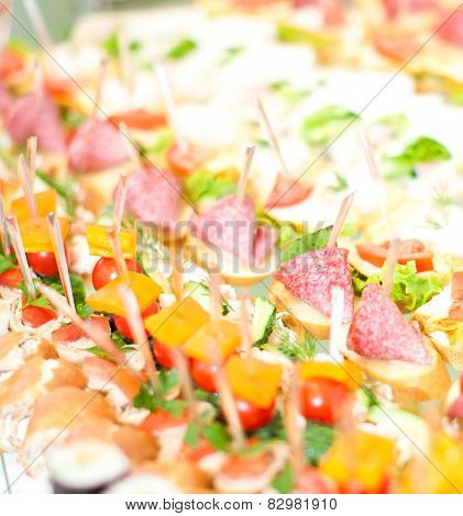 Canape Reception Buffet
