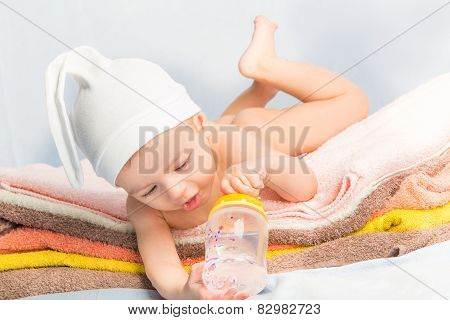 Baby And Bottle