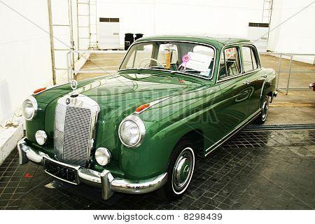Vintage car, Thailand.