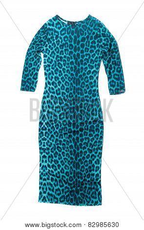 Blue Leopard Dress.
