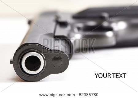Gun Pistol Isolated