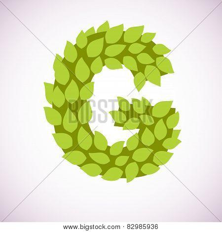 letter like a bush