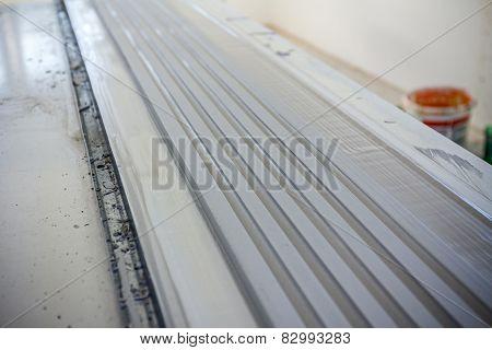 Surface Finish Gypsum Moldings