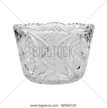 Crystal Vase Isolated