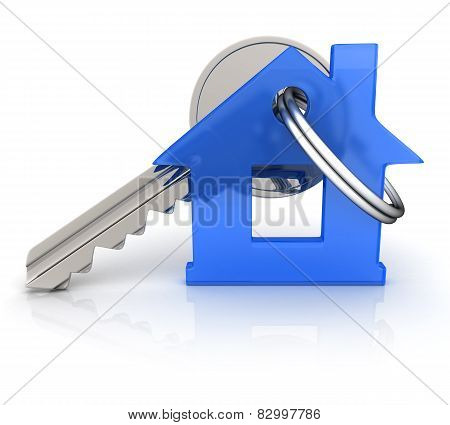 Abstract Home And Key