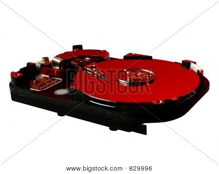 Hard disk red