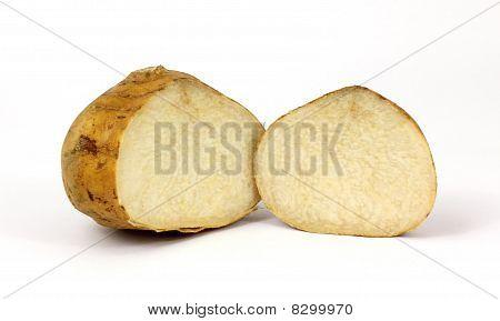 Split Jicama Root