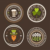 picture of saint patrick  - Vector set of St - JPG