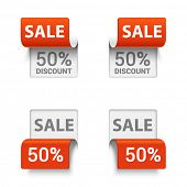 pic of orientation  - Vector set of signs saying SALE in different orientations - JPG