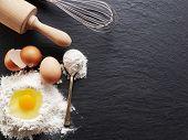 foto of ingredient  - Dough preparation - JPG