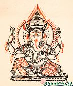 picture of ganesh  - Ganesh - JPG