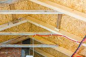 picture of attic  - Thermal insulation material  - JPG