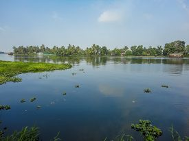 foto of alleppey  - View at Alleppey India at sunny day - JPG