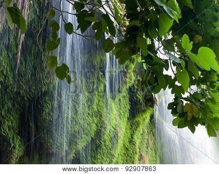 Kursunlu Waterfall Nature Park near Antalya. Turkey