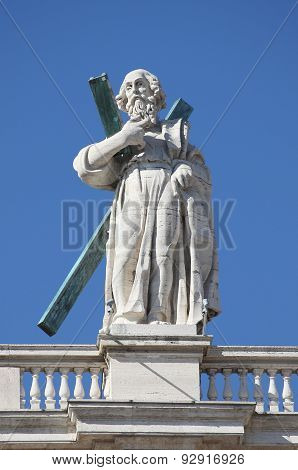 Statue of an Apostle in Vatican
