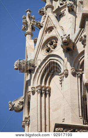 Gargoyles of Palma de Mallorca Cathedral