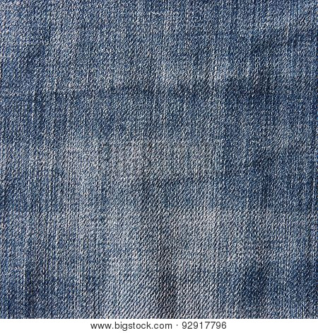 Blue Denim Jeans Texture.