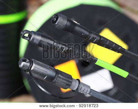 Field hardened fiber optic connectors