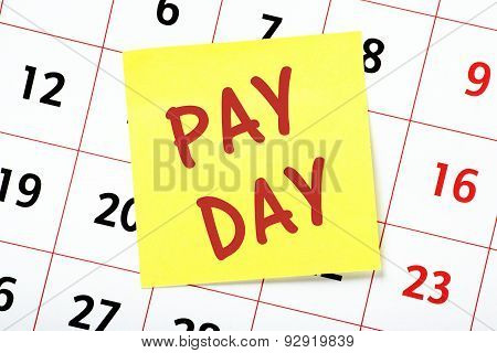 Pay Day Reminder