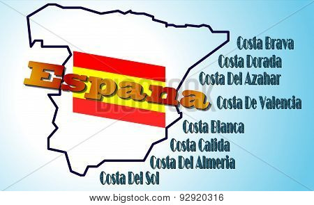 Coasts Of Spain