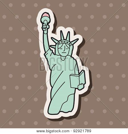 Liberty Statue Theme Elements