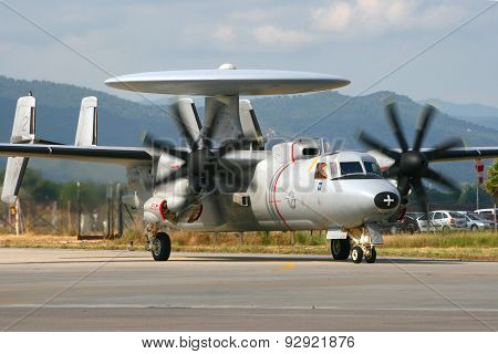 French Navy E-2 Hawkeye