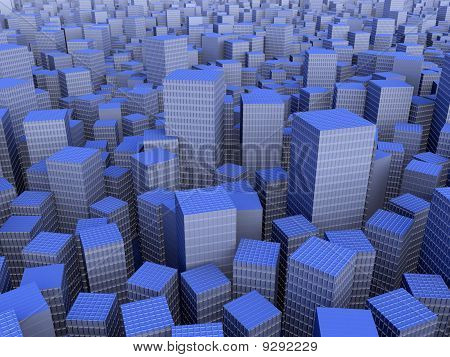 Big City abstract