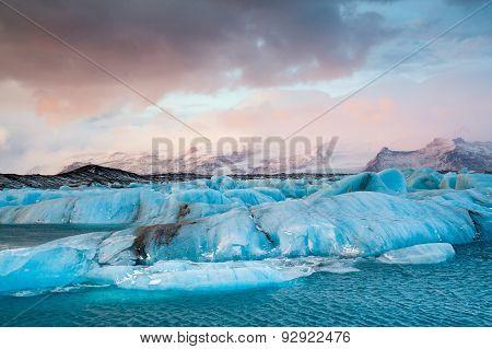 Jokulsarlon Iceberg, Iceland