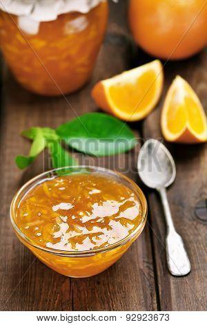 Jam From Orange Fruits