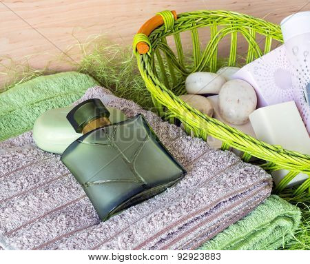 Still Life With Toiletries