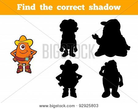 Find The Correct Shadow (aliens)