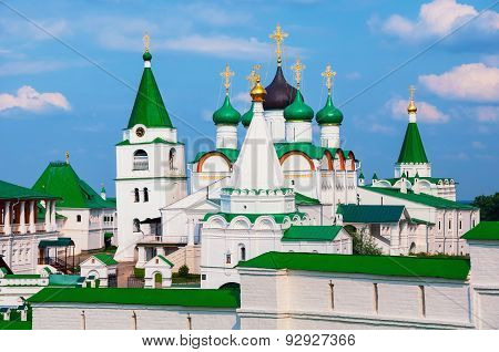 Pechersky Ascension Monastery In Nizhny Novgorod, Russia