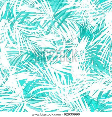 Seamless neo camouflage tropical summer pattern