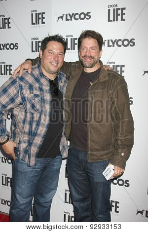 LOS ANGELES - JUN 8:  Greg Grunberg, Jason Brooks at the LA Launch Of LYCOS Life at the Banned From TV Jam Space on June 8, 2015 in North Hollywood, CA