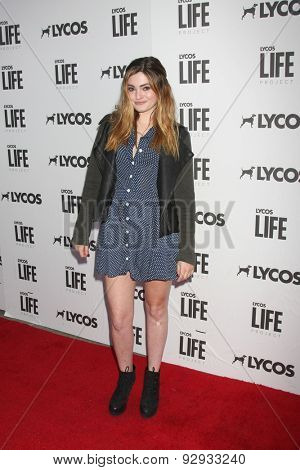 LOS ANGELES - JUN 8:  Alexis Raich at the LA Launch Of LYCOS Life at the Banned From TV Jam Space on June 8, 2015 in North Hollywood, CA