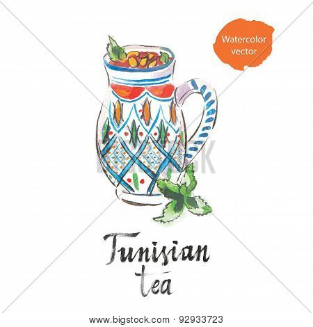 Tunisian tea