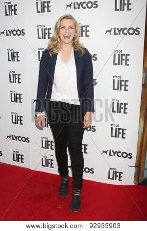 LOS ANGELES - JUN 8:  Kara Killmer at the LA Launch Of LYCOS Life at the Banned From TV Jam Space on June 8, 2015 in North Hollywood, CA