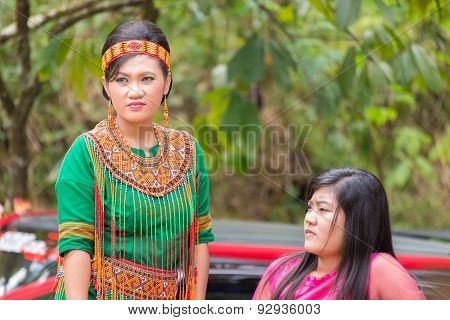 People From Tana Toraja, Sulawesi, Indonesia