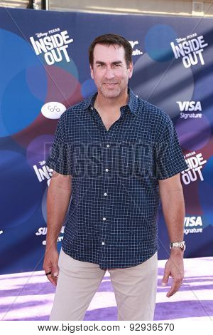 LOS ANGELES - JUN 8:  Rob Riggle at the
