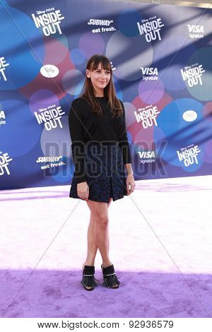 LOS ANGELES - JUN 8:  Rashida Jones at the