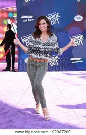 LOS ANGELES - JUN 8:  Constance Marie at the