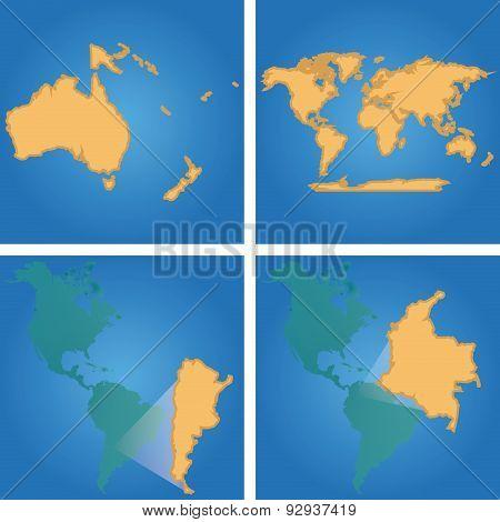 Four Maps