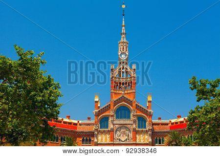 Hospital of the Holy Cross and Saint Paul. Barcelona