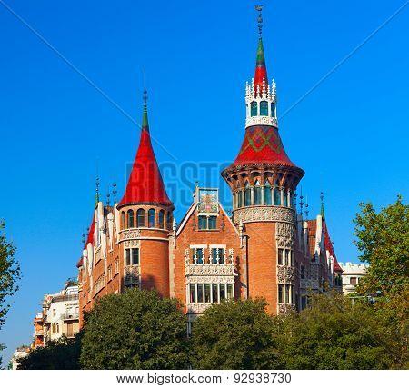 BARCELONA, SPAIN .Casa de les Punxes (Casa Terrades)