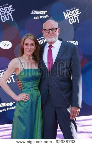 LOS ANGELES - JUN 8:  Victoria Labalme, Frank Oz at the
