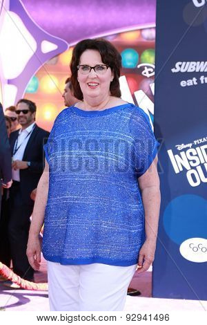LOS ANGELES - JUN 8:  Phyllis Smith at the